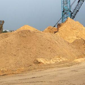 cát bê tông vàng