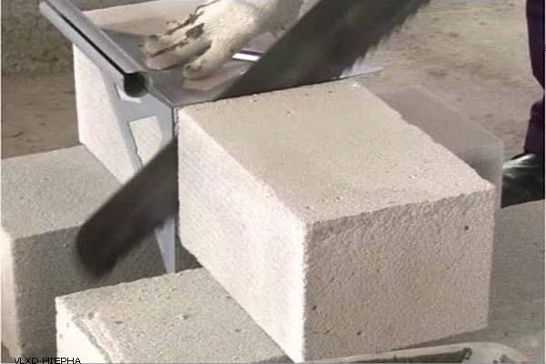 sản phẩm vật liệu xây dựng bê tông khí chưng áp
