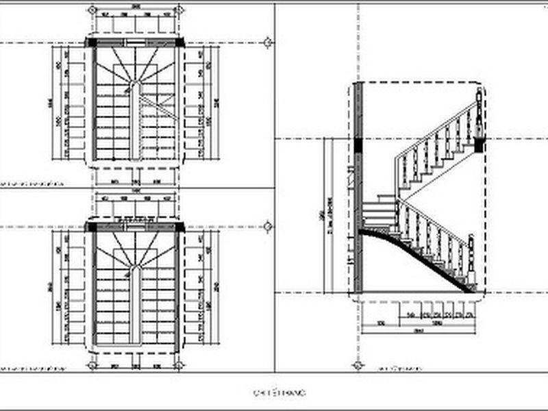 Kích thước bậc cầu thang