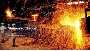 nhà máy sắt thép